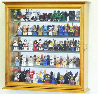Lego Men Action Figures Disney Minatures Display Case Cabinet Wall