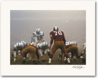 Neil Leifer, Golden Age of American Football Art Ed. with Limited