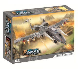 Military Sonic Fighter Jet Building Blocks Lego 384pcs 5660 Free Gift