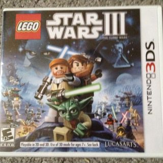 Lego Star Wars III Clone Wars Nintendo 3DS New SEALED