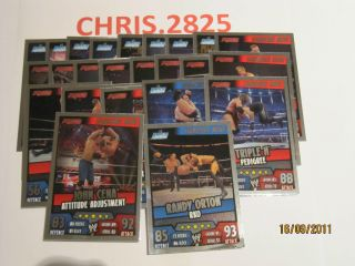 Slam Attax Rumble Signature Move Cards Pick Your Own Free P P for UK