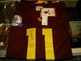 Matt Leinart Autograph Signed Jersey USC Real Rosebowl