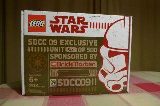 LEGO STAR WARS MINI Republic DROPSHIP & AT TE SDCC 09 Exclusive Brick