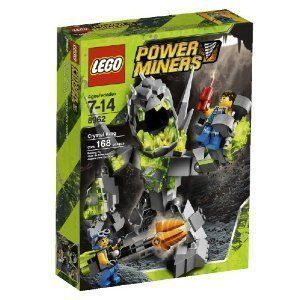Lego Power Miners 8962 Crystal King Brand New
