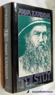 Anna Karenina by Leo Tolstoy VG Hardcover w Dust Jkt 0672523833
