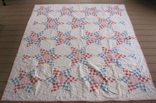 Lemoyne Star Vintage Quilt