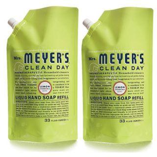 Clean Day Liquid Hand Soap Refill Pouch, Lemon Verbena, 34 oz, 2 pac