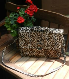 Leopard Print Laptop Computer Cover Case Bag