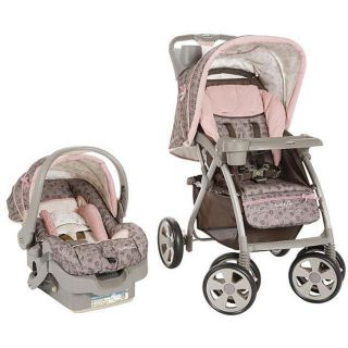Safety 1st Eurostar Stroller Travel System Pink Lexi Brand New