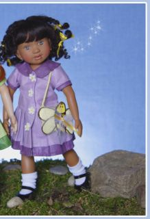 2007 Berdine Creedy 8 Vinyl African American Bee Doll Limited Edition