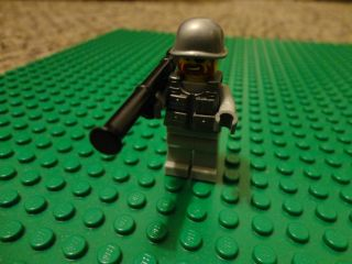 Custom Lego Military Army Minifig with BrickArms Weapons
