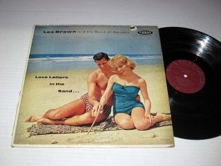 Les Brown His Band of Renown Love Letters in The Sand Coral Mono