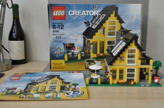 Lego Creator Beach House 4996 Complete