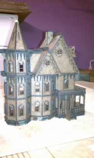 Leon Gothic Victorian Mansion Dollhouse Quarter 1 48 Scale Kit