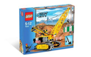 Retired Lego City 7632 Crawler Crane MISB Construction Legos