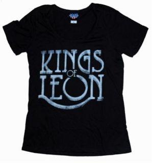 New Junk Food Kings of Leon Logo Ladies T Shirt Size Medium
