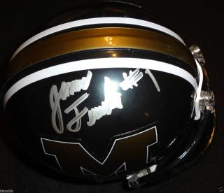 JAMES FRANKLIN SIGNED MIZZOU TIGERS HELMET MISSOURI AUTOGRAPH PROOF