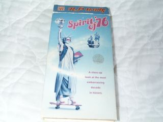 The Spirit of 76 VHS David Cassidy Leif Garrett Rob Reiner Devo Tommy