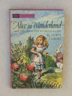 Lewis Carroll Alice in Wonderland Grosset Dunlap not Dated HC