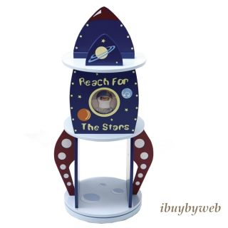Levels Of Discovery Kids Rock It Rocket Spaceship Bookcase Book Shelf
