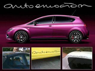 Seat Ibiza Leon 6J 2008 2012 MK5 Auto Emocion Decalls Stickers