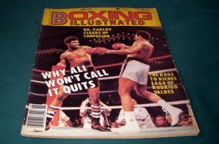 1978 June Boxing Magazine Muhammad Ali Leon Spinks