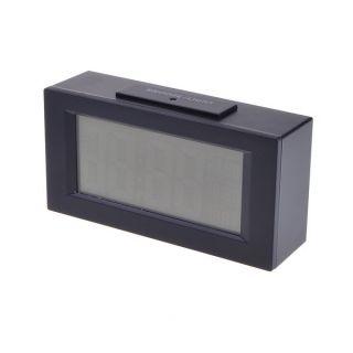 Black Snooze Light Big LCD Digital Backlight Alarm Clock