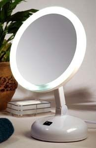 10X Lighted Magnifying Makeup Mirror   Daylight Mirror Series [FL 10DS