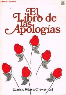 Evaristo Ribera Chevremont El Libro de Las Apologias Puerto Rico