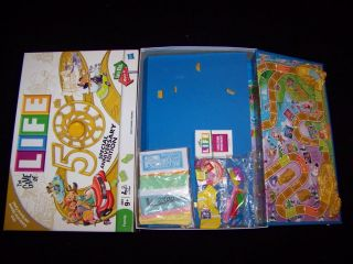 The Game of Life 2000 or 2010 50th Boardgame 100 Complete Board Game