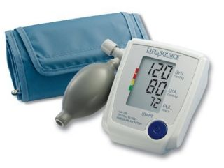 LifeSource UA 705VL Advanced Manual Inflate Blood Pressure Monitor