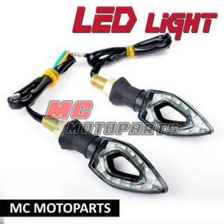 Blade LED Turn Signal Light Indicators DR 200 SE DR Z 250 Djebel DR200