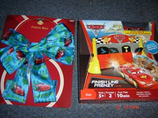 Disney Pixar Cars Lightning McQueen Finish Line Frenzy Game 5