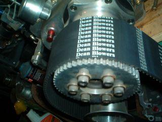 71 671 Blower supercharger 8mm Drive Belt 1520 BBC Hemi 3 Wide Race