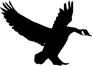 GOOSE Silhouette Landing Hunting Decal 5 x 3 5