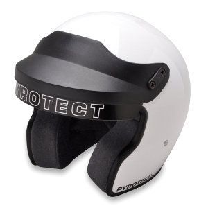 Pyrotect Sportsman Open Face Motorcycle Helmet M2010 Dot
