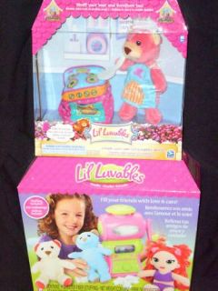 LIL LUVABLES STUDIO DOLL & BEAR KIT + HTF STOVE SET NEW