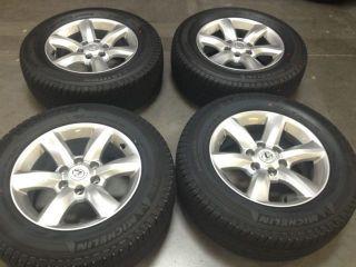 Lexus GX 460 OEM 18 Wheels Michelin Tires Brand New GX470 470 RIMS