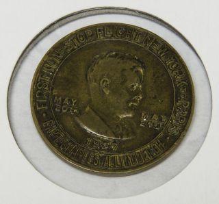 Lindbergh 1927 Commemorative Coin