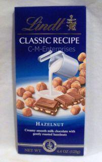 Lindt Classic Recipe Hazelnut Milk Chocolate Bar 4 4oz