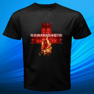 Rammstein Band Rock Heavy Metal Lindemann Vintage Limited New T Shirt