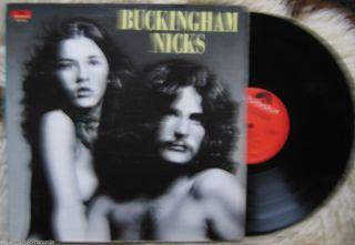 Buckingham Nicks LP Pre Fleetwood Mac Stevie Lindsey