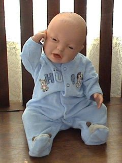 Real Boy Baby Berjusa Doll 21 LIFELIKE Anatomically Correct VGC reborn