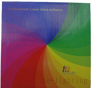 Ishow ILDA Laser Light Control Software USB Interface Latest Version 2