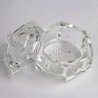 Dappen Dish Nail Art Acrylic Liquid Powder Glass Nail Tip D82