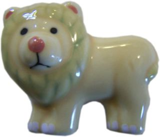 Lion Shaped Cabinet Drawer Pull Knob Ceramic