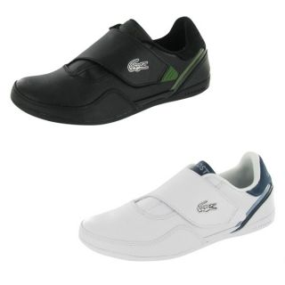 Lacoste Lisse Mens Casual Velcro Strap Pull on Sneaker Shoe