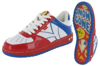 Yums Snow Cone Lil Jon Ice Cream Skate Men Low Top Shoes Sneaker