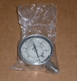 1x680 U s Gauge Liquid Filled Gauge Pressure Gauge Dial Size 2