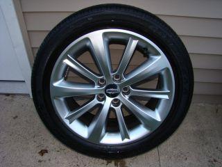 2011 Lincoln MKS MKT OEM factory 19 SINGLE wheel & tire OEM 10 spoke